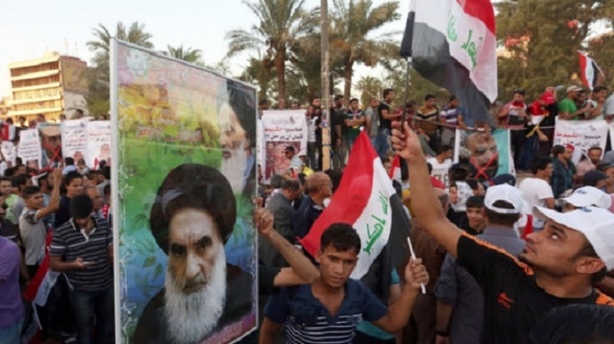 Shiite nationalism? Sistani, Present in Absence