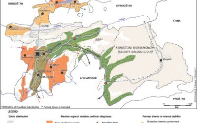 Cartographic analysis: The Dynamics of the Peace Process in Tajikistan